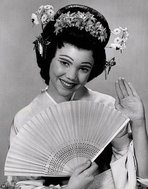 Melinda Marx - As Peep-Bo in The Mikado, 1960.