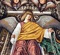 Melozzo da forlì, angeli coi simboli della passione e profeti, 1477 ca., corda 02.jpg