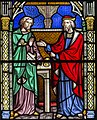 Melton Mowbray, St Mary's church, East window detail (45583788142).jpg