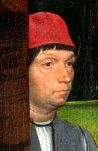 Hans Memling önarcképe (National Gallery, London)