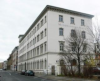 Mendelssohn House, Leipzig Felix Mendelssohn Bartholdys home (now a museum) in Leipzig, Saxony, Germany