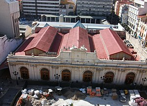 Mercat Central de Castelló des del Fadrí.jpg