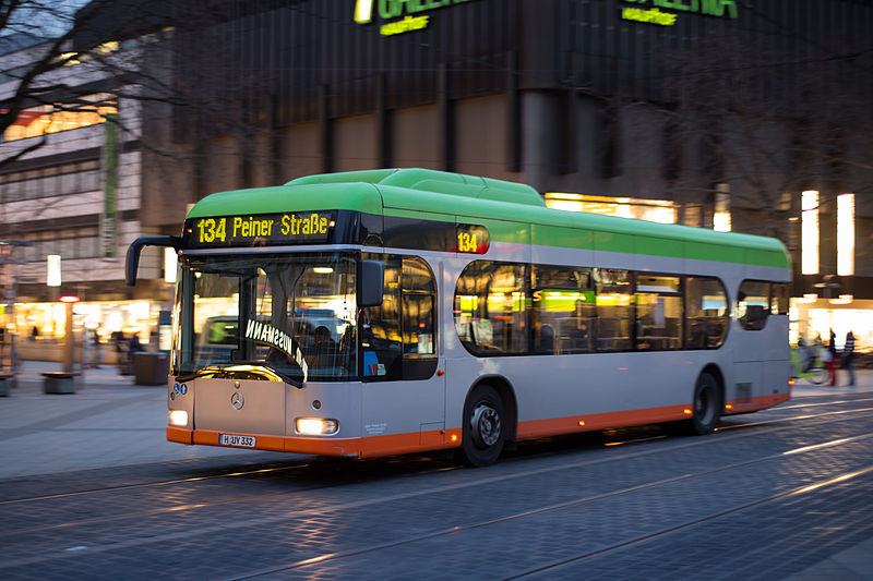 Transporte público em Hannover