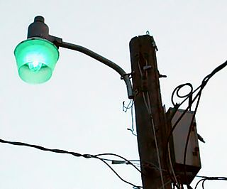 Mercury-vapor lamp