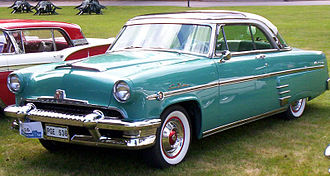 Mercury (automobile) - 1954 Mercury Monterey Sun Valley hardtop coupe