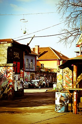 How to get to Metelkova with public transit - About the place