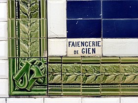 Illustration De Faiencerie Gien