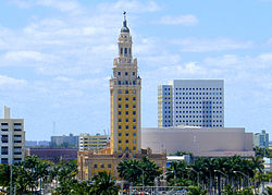 Miami freedom tower for wikipedia by tom schaefer miamitom 0004.JPG