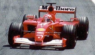 Formula One - Michael Schumacher won five consecutive titles with Ferrari