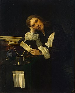 Michael Sweerts - Portrait of a Young Man (Self-portrait?)