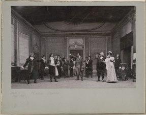 Michel Perrin, Dramatiska teatern 1900. Föreställningsbild - SMV - H14 020.tif