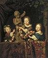 Michiel van Musscher - Portretgroep van drie kinderen - 1554 (OK) - Museum Boijmans Van Beuningen.jpg