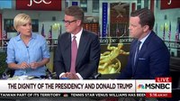 File:Mika Brzezinski Responds To President Donald Trump's Tweets About Her - Morning Joe - MSNBC.webm