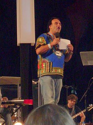 Mike Pilavachi - Mike Pilavachi speaking at Soul Survivor 2009 Week C