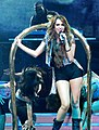 Miley Cyrus - Wonder World Tour - Party in the U.S.A. cropped.jpg