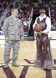 Pistol Pete New Mexico State University Athletics Wikipedia