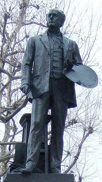 Millais statue 3