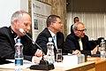 Ministru prezidenta VDombrovska un ekonomista A. Aslunda grāmatas atvēršana (5765053786).jpg