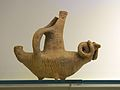 Minoan pottery, kernos, head of a bull, 2600-1900 BC, AMH, 144563.jpg