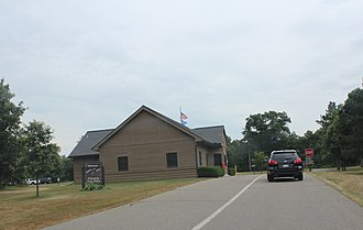 Mirror Lake State Park - Image: Mirror Lake State Park Wisconsin Ranger Station