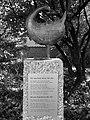 Mission 21 – Evangelisches Missionswerk Basel Statue Jubiläumssymbol.jpg