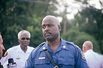 Ferguson unrest - Missouri Highway Patrol Captain Ronald S. Johnson was asked to take over law enforcement jurisdiction at Ferguson