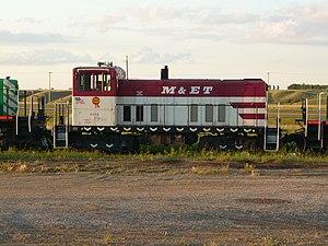 Last Mountain Railway - Image: Modesto and Empire Traction Locomotive 604