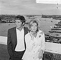 Modesty Blaise film van Amerikaan Joseph Losey. Filmopnamen te Amsterdam. Moni, Bestanddeelnr 917-9562.jpg