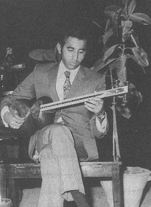Mohammad-Reza Lotfi - Young Lotfi Playing Tar