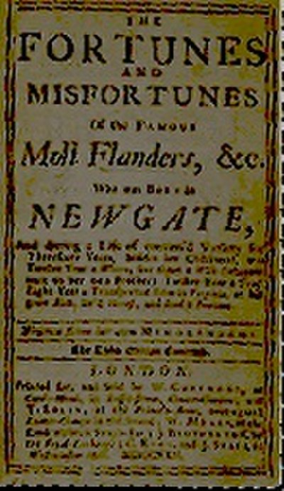 Picture of a book: Moll Flanders