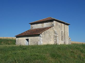 Chapelle Saint-Gibrien - The chapel in 2005.