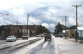 Iowa Highway 127 - Iowa Highway 127 in Mondamin.