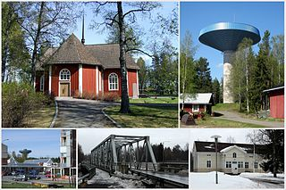 Kiiminki (district) District of Oulu in Finland