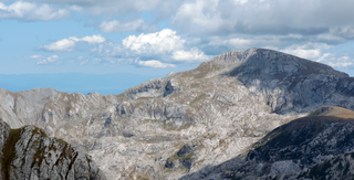Monte Mongioie Mountain in Italy