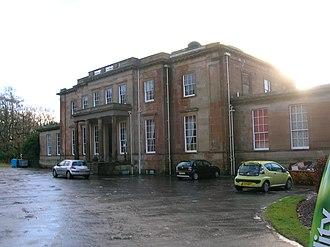 Montgreenan - Montgreenan Mansion house.