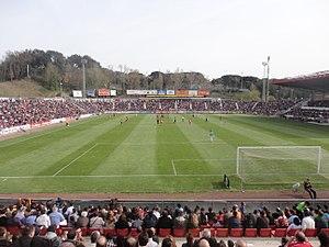 Estadi Montilivi - Football game at Montilivi
