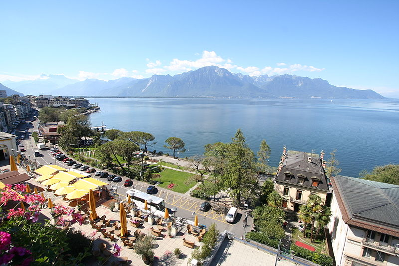 Montreux, Swiss Lake Geneva