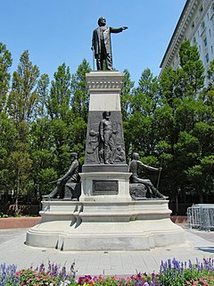 Brigham Young Monument Sculpture by Cyrus Edwin Dallin