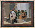 Mosaic of the theatrical masks - Google Art Project.jpg