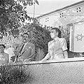 Moshe Sharett, de eerste minister van buitenlandse zaken van de staat Israel, tu, Bestanddeelnr 255-1437.jpg