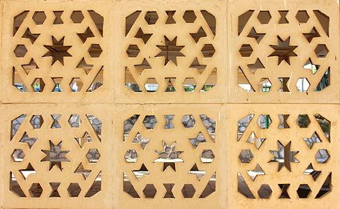 Simple Arabesque. Mosque Chuah Naz egypt.