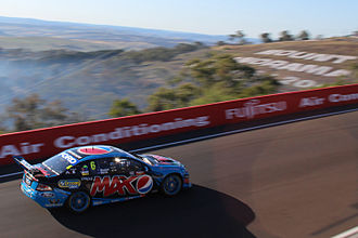 Chaz Mostert - The Ford FG Falcon in which Mostert and Paul Morris won the 2014 Supercheap Auto Bathurst 1000