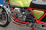 Moto Guzzi V 7, Bj. 1973, Motor links (2017-07-02 Sp).JPG