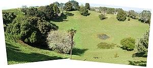 Mount Saint John (New Zealand) - The crater of Mount Saint John