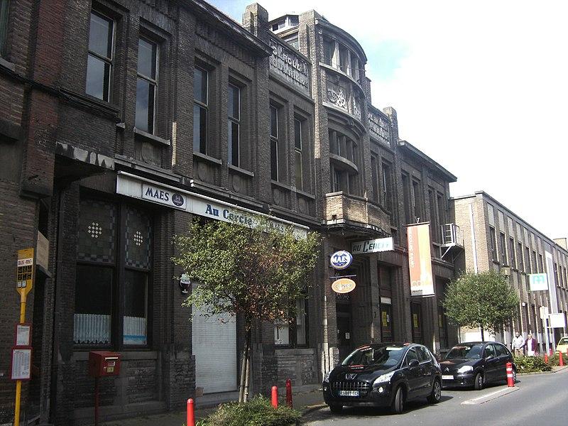 Mouscron (Belgique)) - Cercle ouvrier catholique - rue Aloïs den Reep.