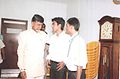 Mr.Naidu with students..jpg