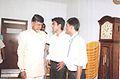Mr.Naidu with students..jpg