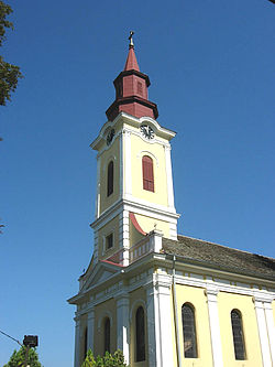 Mramorak, Romanian Orthodox church.jpg