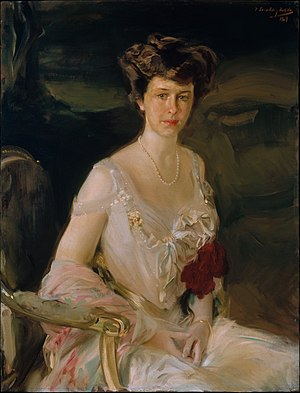 Winthrop W. Aldrich - Portrait of Harriet Alexander, 1909