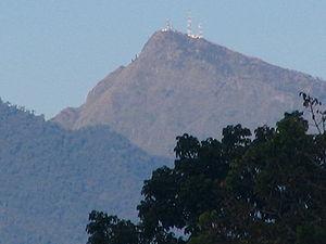 Mount Kitanglad - Mt. Kitanglad viewed from Impasug-ong, Bukidnon
